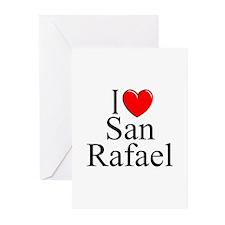 """I Love San Rafael"" Greeting Cards (Pk of 10)"
