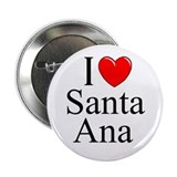 """I Love Santa Ana"" Button"