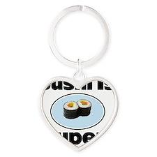 Sushi coin purse Heart Keychain