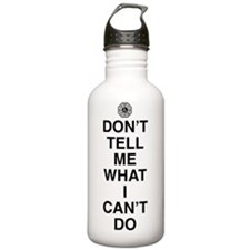 dont-tell-me-light Sports Water Bottle