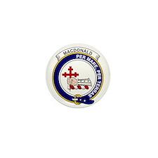 MacDonald (of Sleat) Clan Badge Mini Button