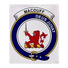 MacDuff Clan Badge Throw Blanket