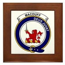 MacDuff Clan Badge Framed Tile