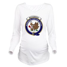 MacKinnon Clan Badge Long Sleeve Maternity T-Shirt