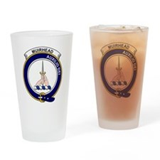 Muirhead Clan Badge Drinking Glass