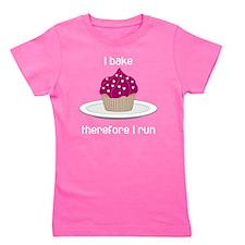 BakeRunCupCake6b Girl's Tee