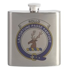 Rollo Clan Badge Flask