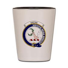 Skene Clan Badge Shot Glass