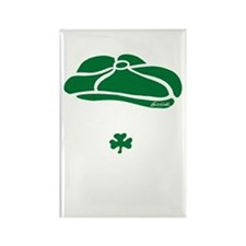IRISH Till The Day I Die (white/g Rectangle Magnet