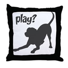 play4 Throw Pillow