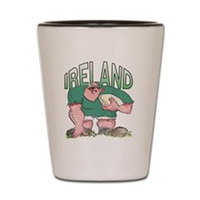 Irish Rugby - Forward 1 Shot Glass