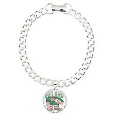 Irish Rugby - Forward 1 Charm Bracelet, One Charm