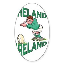 Irish Rugby - Kicker Decal