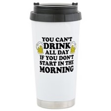 Drink All Day Ceramic Travel Mug