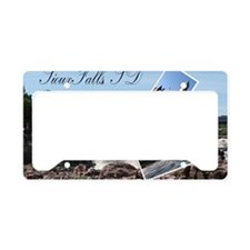 23x35_SiouxFalls2 License Plate Holder