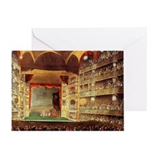 Drury Lane theatre Greeting Card