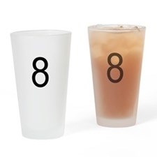 8ball Drinking Glass