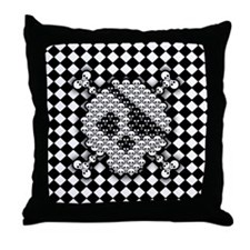 tiled-sk-BUT Throw Pillow
