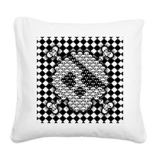 tiled-sk-TIL Square Canvas Pillow
