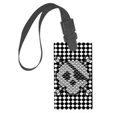 tiled-sk-CRD Luggage Tag