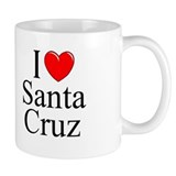 &quot;I Love Santa Cruz&quot; Mug