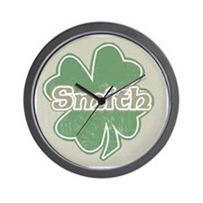 """Shamrock - Smith"" Wall Clock"