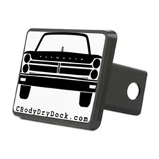 65 Front Black Hitch Cover