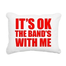 okBandMeE Rectangular Canvas Pillow