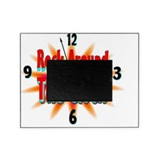 rock around the clock Picture Frame