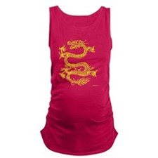 TSHIRT_DRAGON_YELLOWINK_FEB_201 Maternity Tank Top