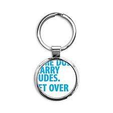 somedudes Round Keychain
