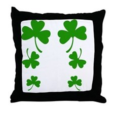 FF 3 Leaf C Throw Pillow