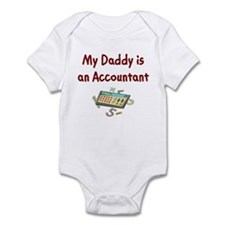 My Daddy is an Accountant Infant Bodysuit