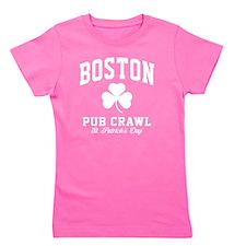 Boston Pub - blk Girl's Tee