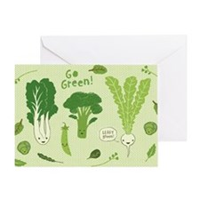gogreenskin Greeting Card