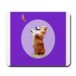 Begging Corgi Mousepad