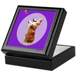 Begging Corgi Keepsake Box