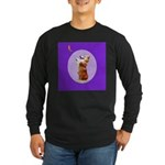 Begging Corgi Long Sleeve Dark T-Shirt