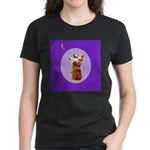 Begging Corgi Women's Dark T-Shirt