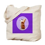 Begging Corgi Tote Bag