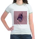 Bloodhound Puppy Jr. Ringer T-Shirt