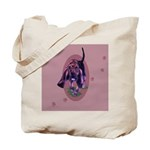 Bloodhound Puppy Tote Bag