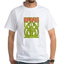 Art Nouveau Tulips -- Shirt