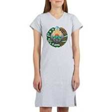 Uzbekistan Coat of Arms Women's Nightshirt