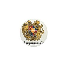 Armenia Emblem Mini Button
