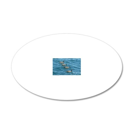 100712a1 20x12 Oval Wall Decal