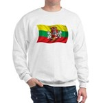 Wavy Lithuania Flag Sweatshirt