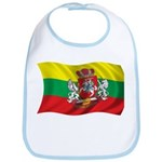 Wavy Lithuania Flag Bib