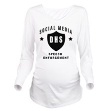 Social Squad DHS Long Sleeve Maternity T-Shirt