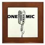 ONE MIC Framed Tile